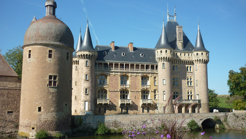 Chateau in La Clayette