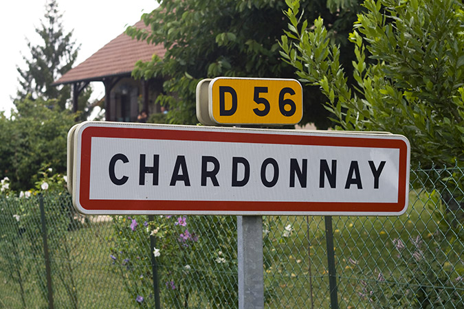 The town of Chardonnay