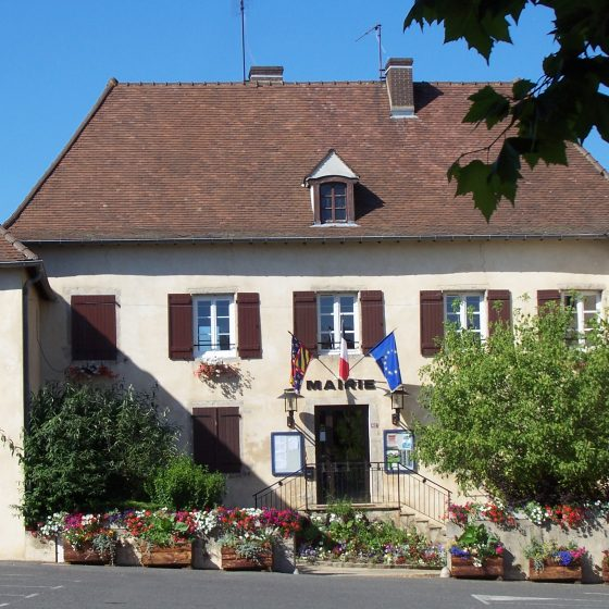 Dompierre les Ormes town hall, France