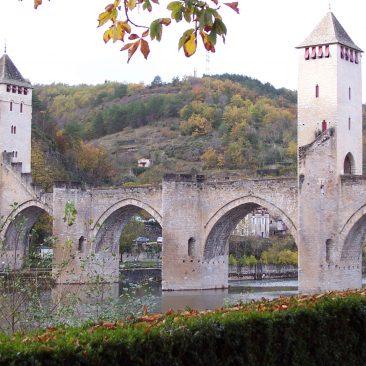Fortified bridge in Cahors