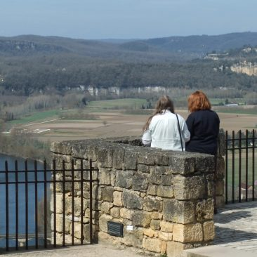 Domme and Dordogne valley