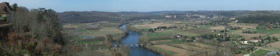 Dordorgne River valley