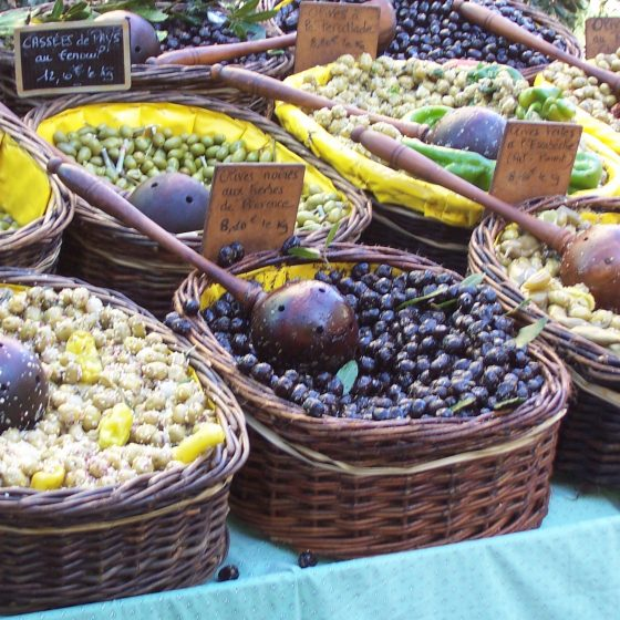 Olives, Market at Isle sur la Sorgue