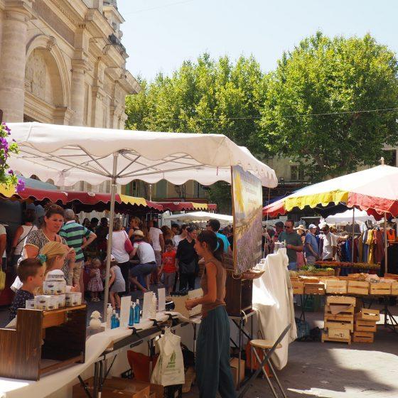Market at Isle sur la Sorgue
