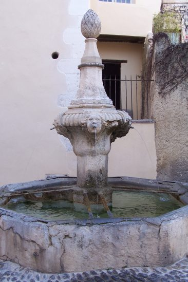 One of the classic fountains