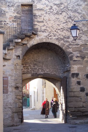 City gate, Richerenches
