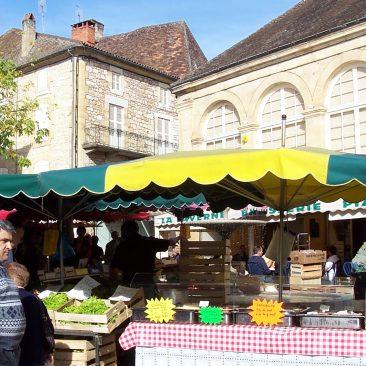St Cyprien Sunday market